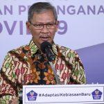 Juru Bicara Pemerintah untuk Covid-19 Achmad Yurianto ingatkan waspadai potensi penyebaran baru Virus Corona. Foto: Lintasnusanews.com/ Humas Gugus tugas Nasional
