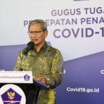 Juru Bicara Pemerintah untuk Covid-19 Achmad Yurianto. Foto: Humas Gugus Tugas Nasional Percepatan Penanganan Covid-19.