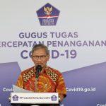 Juru Bicara Covid19 Achmad Yurianto umumkan jumlah kasus positfi Corona masih dipimpin Provinsi Jaw Timur disusul DKI Jakarta. Foto: Lintasnusanews.com/Istimewa
