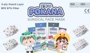Transmisi lokal Corona meningkat, warga mencari masker medis BFE. Pokana Mask salah satu masker yang dapat dicoba. Foto: Dok Pokana Mask
