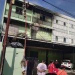 Gudang Pie Susu Dhian di Jalan Suli Denpasar Bali terbakar, Senin (13/07/2020) pagi. Foto: Lintasnusanews.com/Widodo