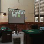Suasana sidang yang berlangsung secara online di PN Denpasar. Foto: Lintasnusanews.com/Widodo