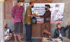 Dit Intelkam Polda Bali bantu Sembako warga Bangli