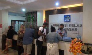 Kantor Imigrasi Denpasar kembali dibuka. Foto: Lintasnusanews.com/Boy Edlon