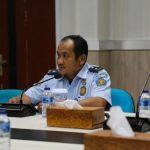 Plh Kepala Kantor Imigrasi Denpasar, Rahmat Gunawan menjelaskan kantornya ditutup seminggu. Foto: Lintasnusanews.com/Dok pribadi