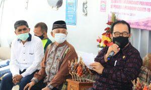 (Diskusi Pariwisata Bali) kiri ke kanan: Koordinator Presidium Kahmi Bali, Umar Ibnu Alkhatab; Ketua Dewan Penasehat Kahmi Bali, H. Taufiq dan Wagub Bali, Tjokorda Oka Artha Ardana Sukawati. Foto: Lintasnusanews.com/Ist