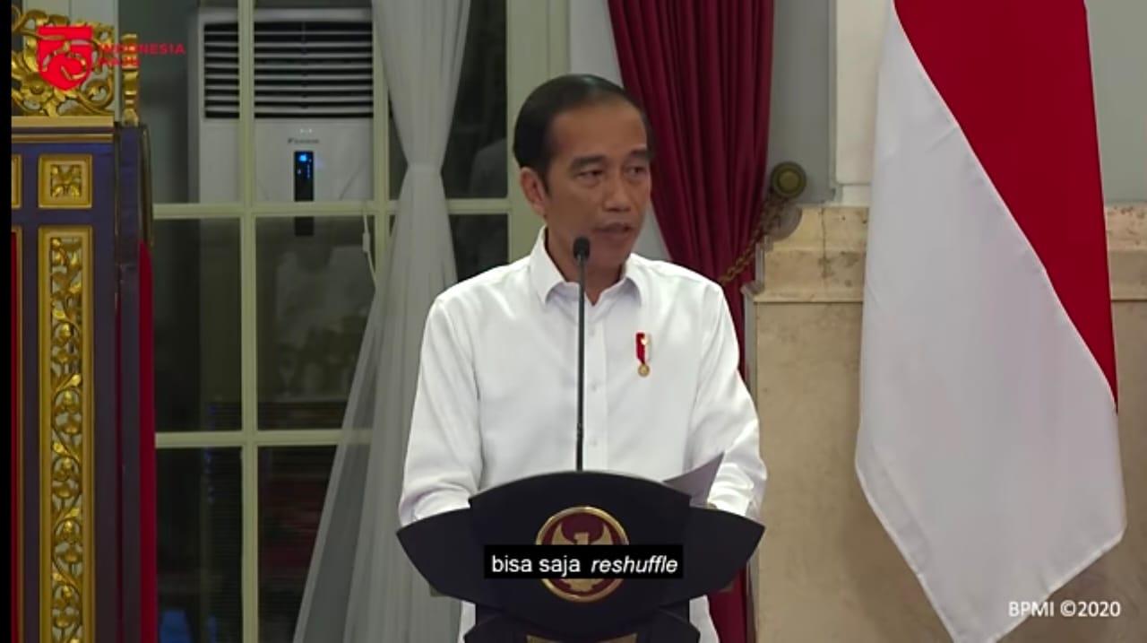 Presiden Jokowi. Foto: Lintasnusanews.com/Tangkapan layar akun Youtube Sekretariat Presiden