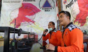 Posko Relawan Pasebaya Gunung Agung. Foto: Lintasnusanews.com/Ist