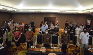 Dalam upaya meyakinkan wisatawan, Pemkot Denpasar gelar bimtek dan sertifikasi CHSE kepada para pelaku pariwisata, Senin (23/11/2020). Foto: Lintasnusanews.com/Ist