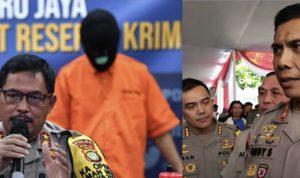 Kapolda Metro Jaya Irjen Pol Nana Sudjana (kiri) dan Kapolda Jawa Barat Irjen Pol Rudy Sufahriadi (kanan). Keduanya dicopot Kapolri Jenderal Idham Aziz dari jabatannya, Senin (16/11/2020) Foto: Colase Lintasnusanews.com/Ist