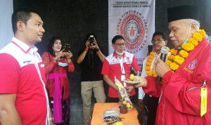 Ketua Umum Advokat FERARI Pusat saat peresmian Kantor DPC FERARI Denpasar, Minggu (29/11/2020). Foto: Lintasnusanews.com/Agung Widodo