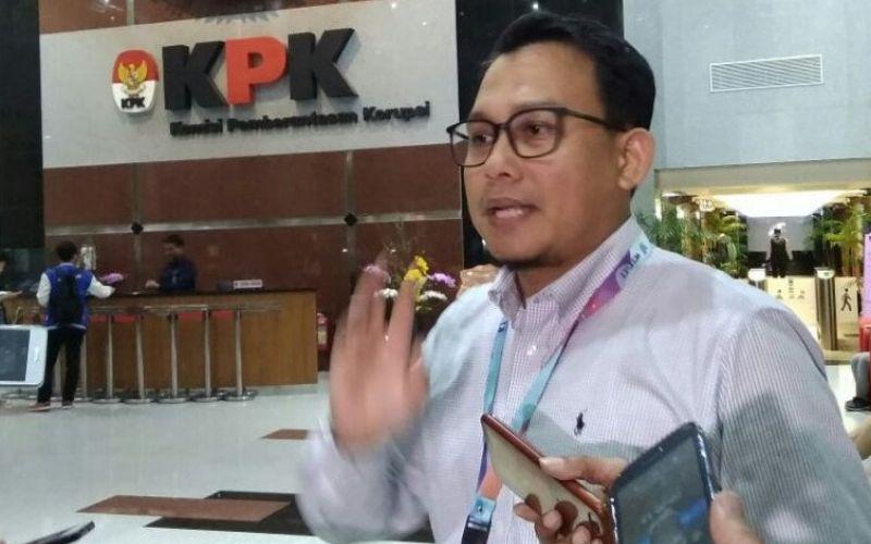 Jubir KPK Ali Fikri menjelaskan, Edhy Prabowo ditangkap. Foto: Antara