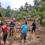 Bencana tanah longsor di Kecamatan Sumpiah, Banyuwas Jawa Tengah, Selasa (17/11/2020). Foto: Lintasnusanews.com/Ist