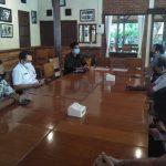 Direktorat Intelkam Polda Bali pertemuan dengan Biro Hukum Setda Provinsi Bali, Rabu (04/11/2020). Foto: Lintasnusanews.com/ Agung Widodo
