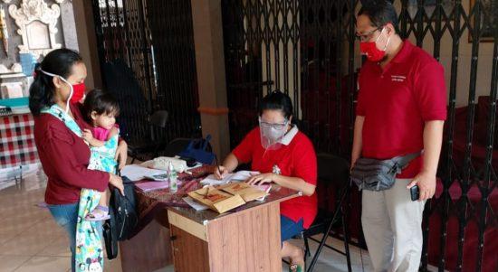 Posyandu Melati, Banjar Tegeh Sari, Kelurahan Tonja, Kota Denpasar beberapa waktu lalu. Foto: Lintasnusanews.com/Ist