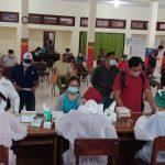 Suasana Rapid Test Petugas KPPS Denpasar di RSUD Wangara Denpasar, Senin (09/11/2020). Foto: Lintasnusanews.com/Ist