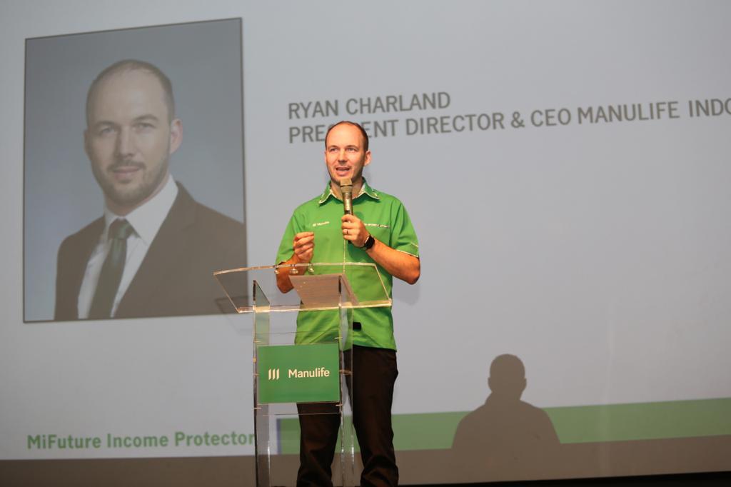 Presiden Direktur dan CEO Manulife Indonesia, Ryan Charland. Foto: Lintasnusanews.com/Ist