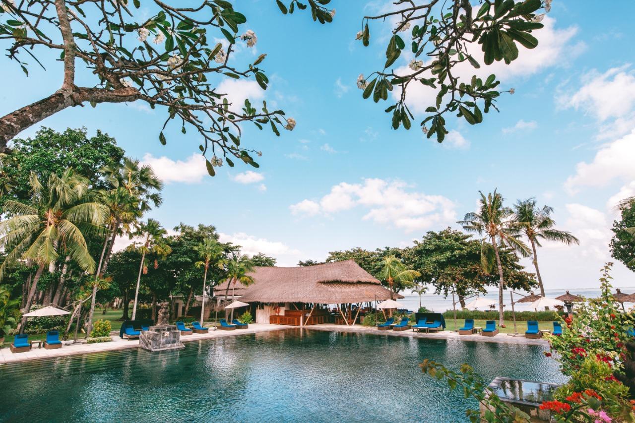 Hotel Belmod Puri Jimbaran Bali anternatif liburan rayakan tahun baru. Foto: Lintasnusanews.com/Dok Belmond Jimbaran