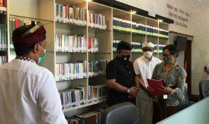 Perpustakaan Kejari Denpasar. Foto: Lintasnusanews.com/Agung Widodo