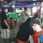 Tim Yustisi Kota Denpasar sidak prokes di wilayah Pemogan. Foto: Lintasnusanews.com/Ist