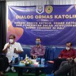 DPD Vox Point Bali gelar diskusi terbatas ungkap mekanisme anggaran keuangan pemerintah di Aula Kampus IKIP PGRI Bali, Sabtu (13/12/2020). Foto: Lintasnusanews.com/Boy Edlon