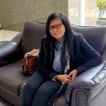 Aktivis Perempuan, Siti Sapurah alias Ipung minta pelaku Pedofil dihukum berat. Foto: Lintasnusanews.com/Agung Widodo