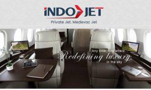 Permintaan sewa Jet Pribadi meningkat. Foto: Lintasnusanews.com/ Dok PT Indojet Sarana Aviasi.
