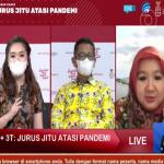 Dialog Produktif Kabar Kamis bertanjuk 3M+3T yang membahas vaksinasi Covid19 di Indonesia di Jakarta, Kamis (11/02/2021). Foto: Lintasnusanews.com/Ist