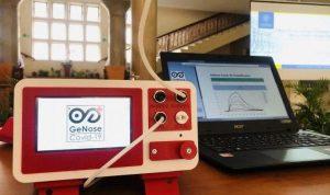 Alat GeNose C19 temuan UGM untuk deteksi Covid19 melalui pernapasan. Foto: Humas UGM