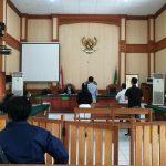 Sidang gugatan usaha pelatihan trading di Polresta Denpasar. Foto: Lintasnusanews.com/Agung Widodo