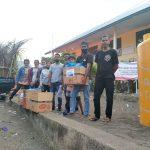 Keluarga Leba Tena Ile Boleng Bali salurkan bantuan kepada korban bencana di Nelelamadike Adonara. Foto: Dok.Leba Tena Ile Boleng Bali.