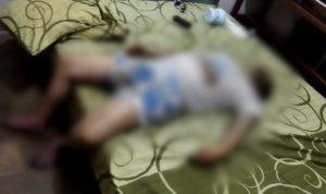 Pria paruh baya atas nama ditemukan tewas dalam sebuah tempat bimbingan belajar di Denpasar Utara. Foto: Lintasnusanews.com/Agung Widodo
