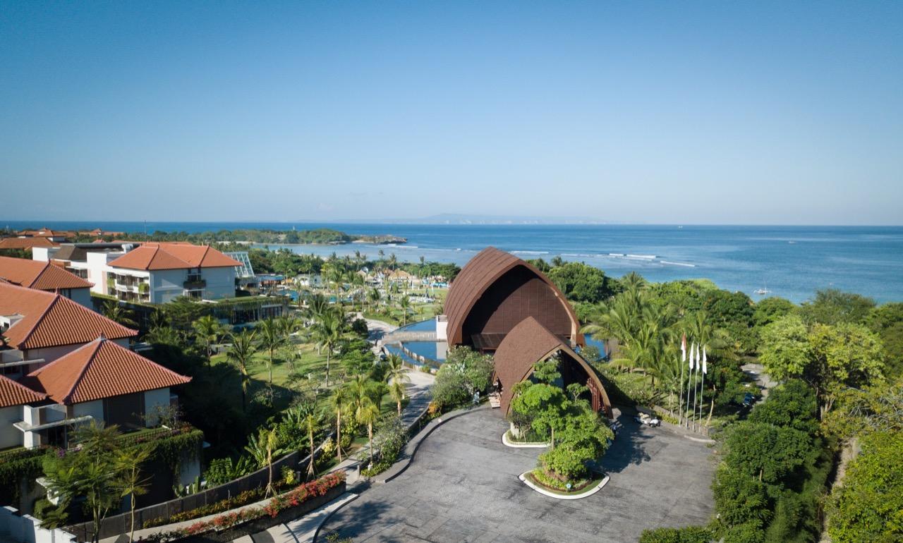 Hotel Merusaka Nusa Dua Bali. Foto: Lintasnusanews.com/Ist