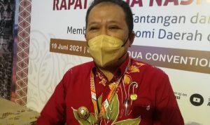 Bupati Jember Hendy Siswanto beberkan potensi daerah usai Rakernas di Nusa Dua Bali, Sabtu (19/06/2021). Foto: Lintasnusanews.com/Agung Widodo