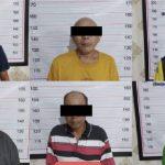 Enam orang terduga preman yang ditangkap saat giat berantas aksi premanisme di Pelabuhan Trisakti Banjarmasin. Foto: Dok. Polresta Banjarmasin, Kalsel