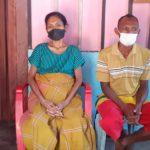 Pasangan petani di Sikka NTT, Gervasius Very dan Maria Veny saat ditemui media Selasa (10/08/21) di Maumere. Foto: Lintasnusanews.com/Karel Pandu