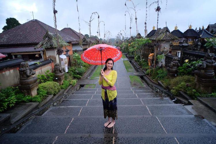 Desa wisata Penglipuran Bali yang masuk dalam Top 100 Destinasi Berkelanjutan Dunia. Foto: Biro Komunikasi Publik Kemenparekraf