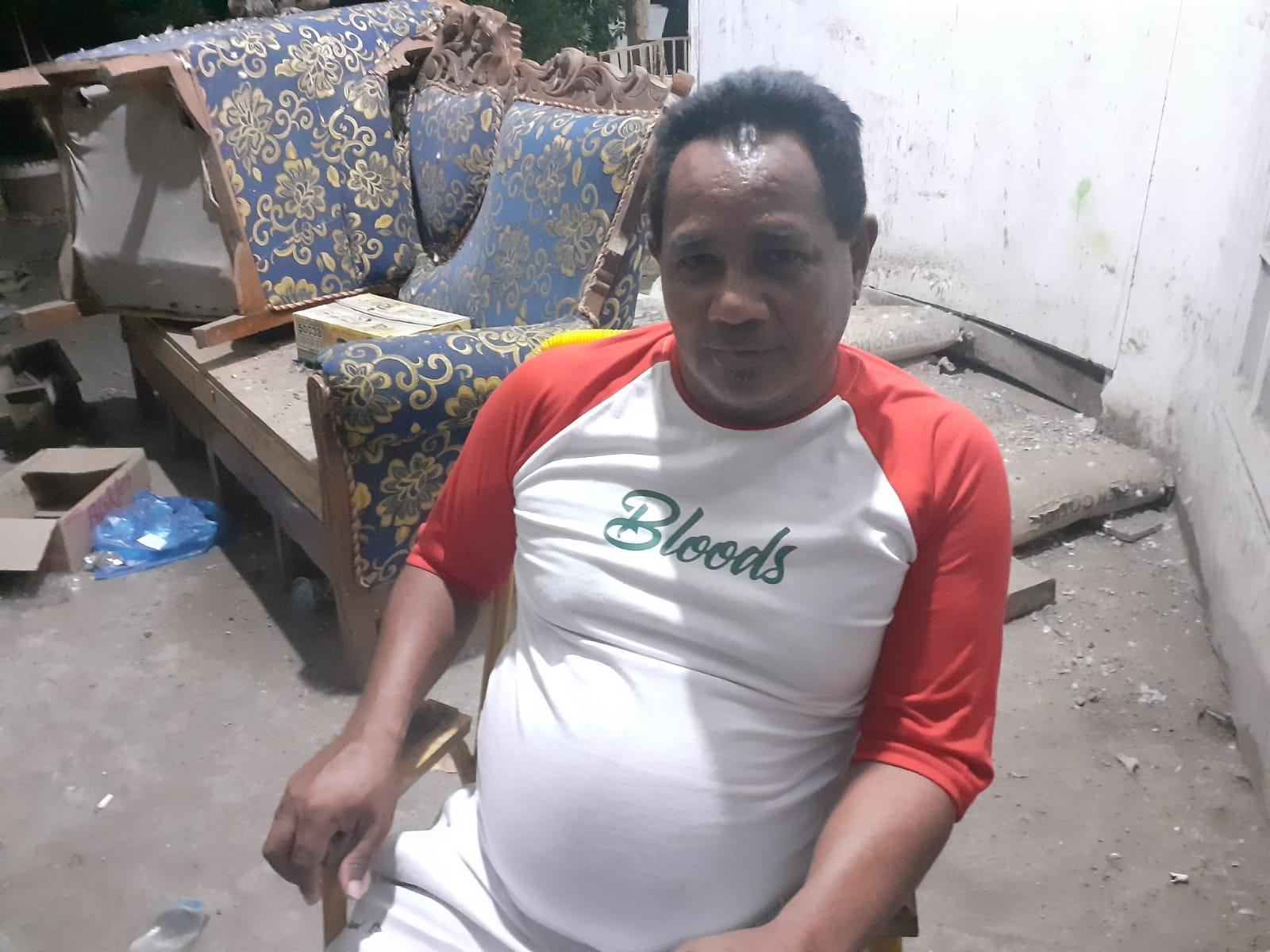 Ketua Gapensi Sikka, Paulus Papo Belang. Foto: Lintasnusanews.com/Karel Pandu