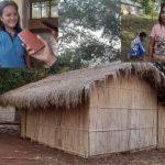 Rumah tidak layak huni yang ditempati dua orang guru honorer SDK Wai Paar, Kecamatan Talibura, Sikka NTT. Foto: Kolase Lintasnusanews.com