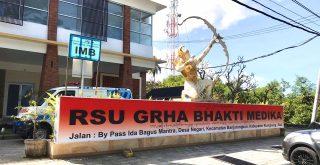 Rumah Sakit Umum Grha Bhakti Medika di Jl. Prof Ida Bagus Mantra. Foto: Lintasnusanews.com/Dok.RSU GBM