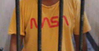 Ridolf Djami Bili ditahan Polres Sikka NTT karena diduga jual material milik PT Bumi Indah. Foto: Lintasnusanews.com/ Karel Pandu