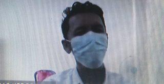 Arief Adi Putra, terdakwa narkoba saat jalani sidang vonis di PN Denpasar karena membeli tembakau gorila dan ekstasi. Foto: Ist